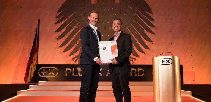 PlusX Award für BE CooL